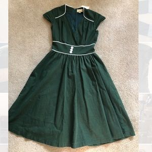 Green Lindy Bop Dress